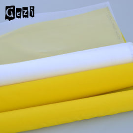 China Flexible Plain Weave Polyester Printing Mesh For T - Shirt Custom Width Length supplier