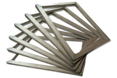 China Industrial Silk Screen Printing Frame , Silver Small Screen Printing Frame 20x24 supplier