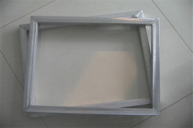 Silver Screen Printing Frames Aluminum Alloy Customized Size 0 - 30N