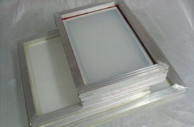China Aluminum Silk Screen Printing Frames High Tension Chemical Resist supplier