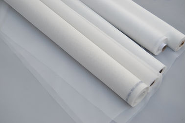 Certificate ISO Nylon Mesh Net Fabric For Screen Printing / Filtration Industry