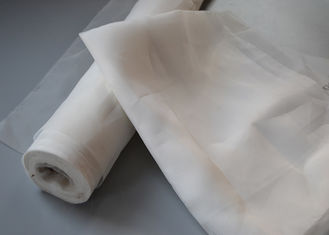 China White Color 15 Micron Polyester Nylon Filter Mesh Can Be Repeated Washing supplier