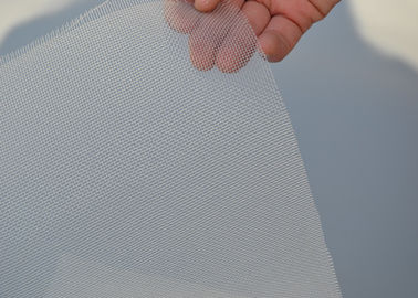 White Nylon Silk Screen Mesh Net Monofilament Wear Resistance With Custom Width
