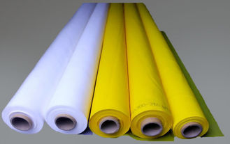 China White 100% Monofilament Polyester Screen Printing Mesh For T-shirt supplier