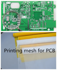 70-72 Mesh Monofilament Polyester Screen Printing Mesh In PCB Printed Circuit Boards