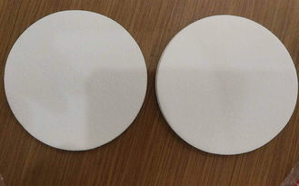 Liquid Filtration Filter Paper Sheets 5 Micron Glass Fiber Paper 100mm Diameter