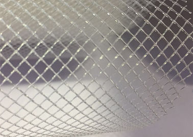 Plastic PP Filter Mesh Extruded Plastic Flat Net 2mm 3mm Diamond Pore Size