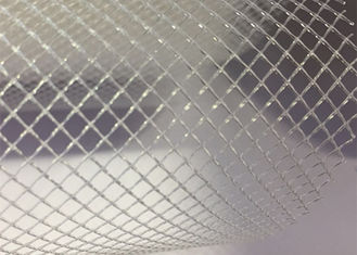 China Plastic PP Filter Mesh Extruded Plastic Flat Net 2mm 3mm Diamond Pore Size supplier