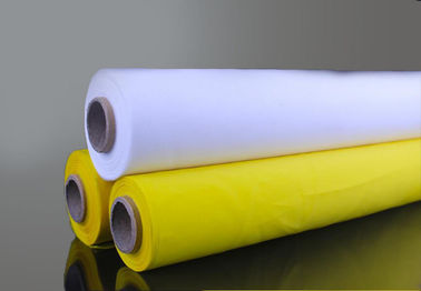 China Wear Resist Silk Screen Fabric Mesh , 380mesh 150T- 31dia Polyester Printing Mesh factory
