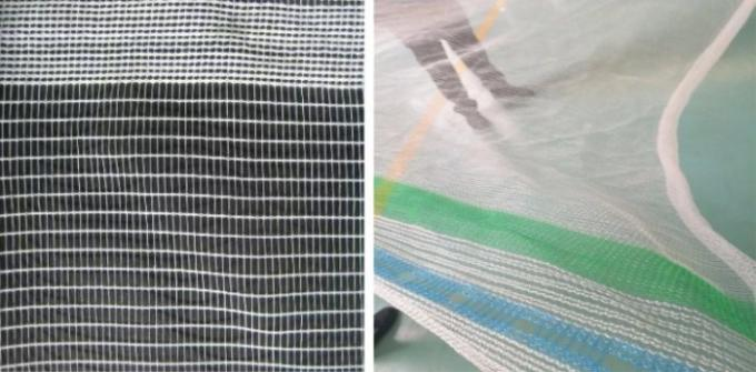Durable HDPE Plastic Insect Mesh Netting For Crop Damaged Protection