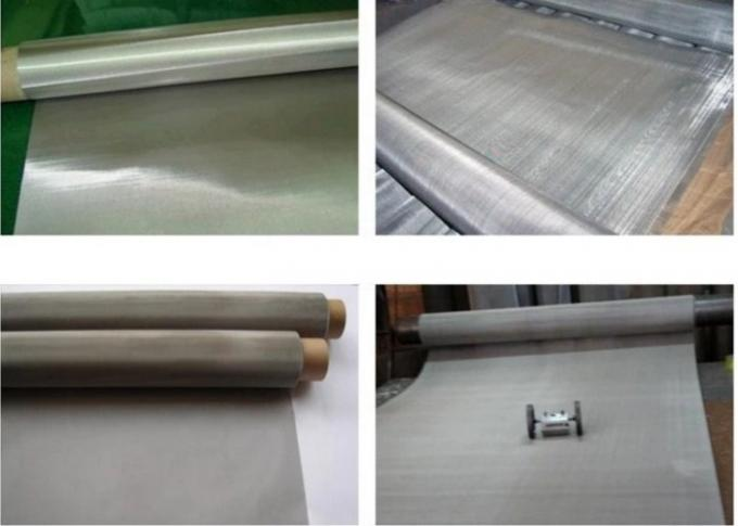 Customized Stainless Steel Metal Mesh For Paper - Making Industry 1-30m Length