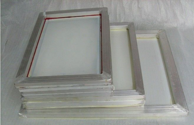 Aluminum Silk Screen Printing Frames High Tension Chemical Resist