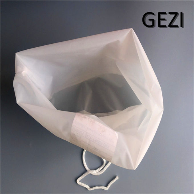 Durable Polyester Nylon Filter Bag , Micron Mesh Filter Customized Size